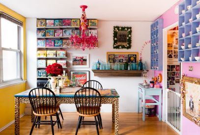 candy-colored-room-from-pink-chandelier-to-animal-print-table